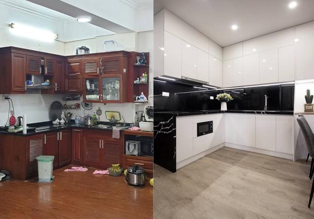 Em trai tự tay cải tạo lại căn hộ cho anh với chi phí 550 triệu, lúc dỡ tủ bếp hết hồn không biết 16 năm qua lại có chi tiết này - Ảnh 4.