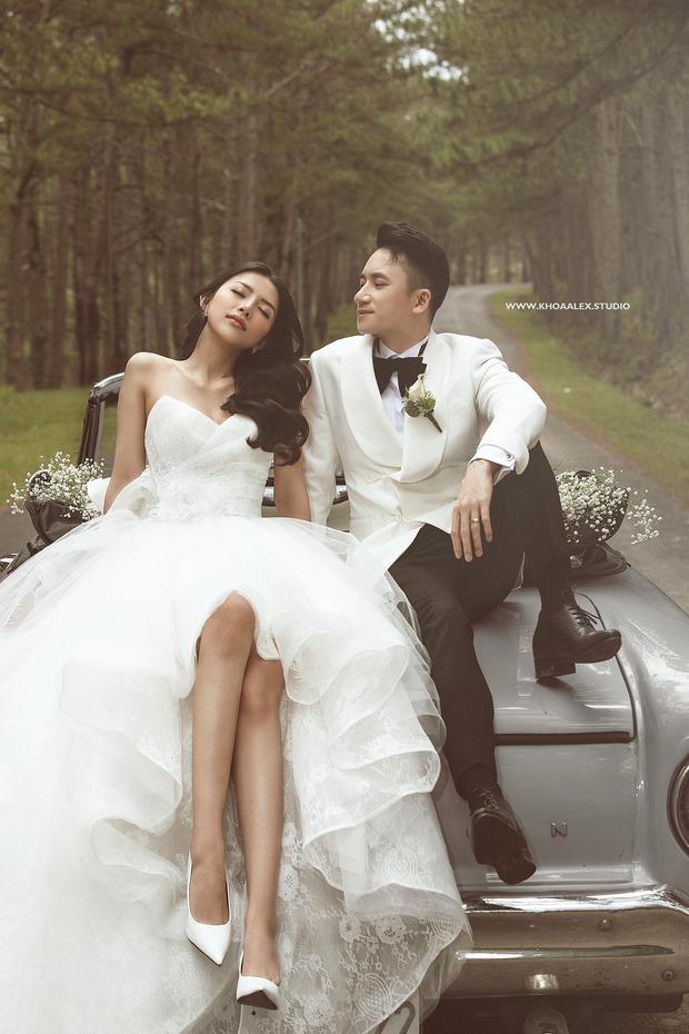 Giữa drama, Phan Mạnh Quỳnh và cô dâu hot girl bỗng lộ ảnh cưới chưa từng được công bố: Đẹp như phim thế này nhìn muốn cưới quá! - Ảnh 3.