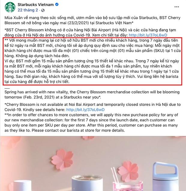 Hoá ra Starbucks Vietnam đã lường trước việc sản phẩm của mình bị đầu cơ tích trữ, tất cả là nhờ chi tiết hiếm người để ý này - Ảnh 5.