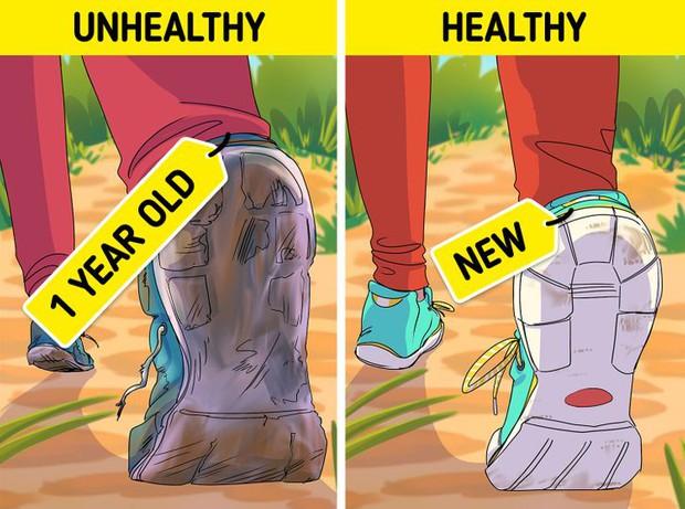 9 lỗi sai trong việc đi bộ mà 90% ai cũng mắc phải, cứ ngỡ chẳng vấn đề gì nhưng thực ra đang huỷ hoại vóc dáng và sức khoẻ của bạn - Ảnh 8.