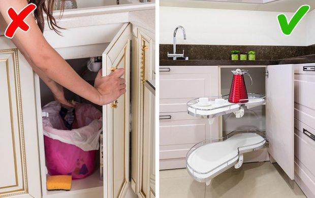 7 sai lầm trong sắp xếp nội thất biến căn bếp của bạn thành cơn ác mộng - Ảnh 4.