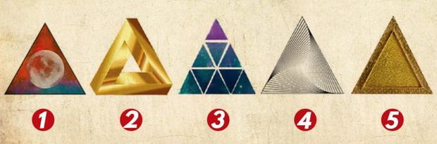 Nét tính cách nào giúp bạn thành công hơn, câu trả lời được bật mí qua hình tam giác bạn chọn! - Ảnh 1.