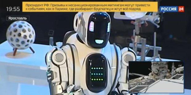 Chú robot lên TV nhưng thông minh đáng ngờ, sự thật không hề giả trân từ NSX khiến cả nước Nga phát cáu - Ảnh 5.