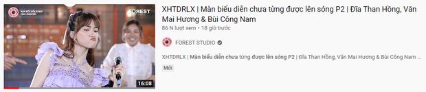 Thương thay Hoà Minzy và Văn Mai Hương, nhìn cái hình thumbnail ekip #XHTĐRLX chọn mà tiền đình - Ảnh 1.