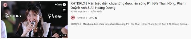 Thương thay Hoà Minzy và Văn Mai Hương, nhìn cái hình thumbnail ekip #XHTĐRLX chọn mà tiền đình - Ảnh 3.