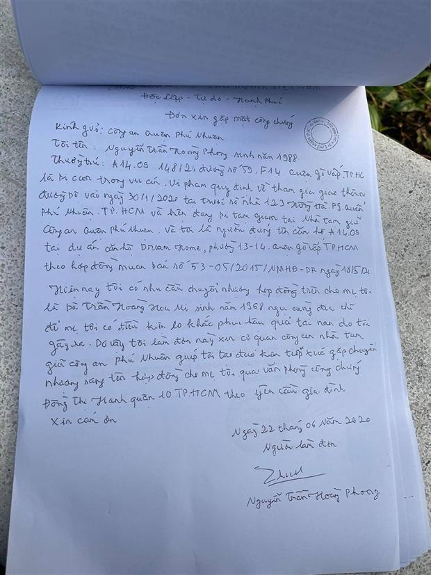 Vụ nữ tiếp viên hàng không bị Mercedes tông: Hồ sơ cho thấy tài xế đã sang tên căn hộ chung cư cho mẹ trong trại tạm giam - Ảnh 2.