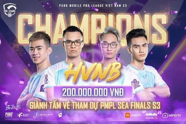 HVNB vô địch giải đấu PUBG Mobile, Nam Blue vẫn quyết rời ghế quản lý vì lý do đặc biệt? - Ảnh 1.