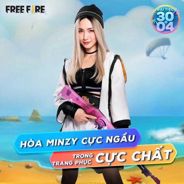 Sau Sơn Tùng M-TP, lần lượt đến Hòa Minzy và Kaity Nguyễn cũng hóa nữ chiến binh cực ngầu trong Free Fire - Ảnh 5.