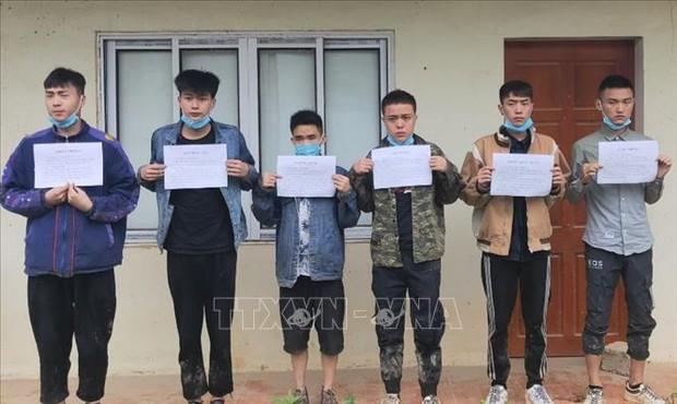 Bộ đội Biên phòng Cao Bằng ngăn chặn 41 người nhập cảnh trái phép - Ảnh 1.