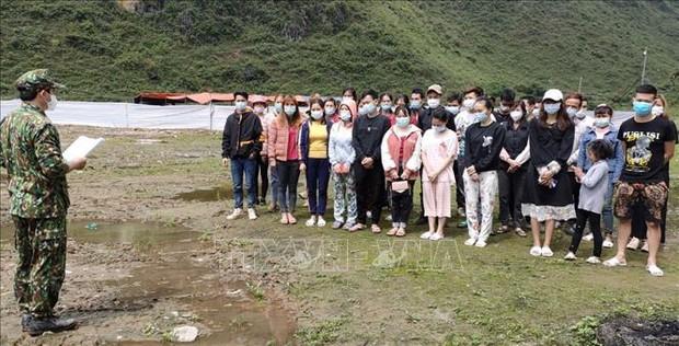 Bộ đội Biên phòng Cao Bằng ngăn chặn 41 người nhập cảnh trái phép - Ảnh 2.
