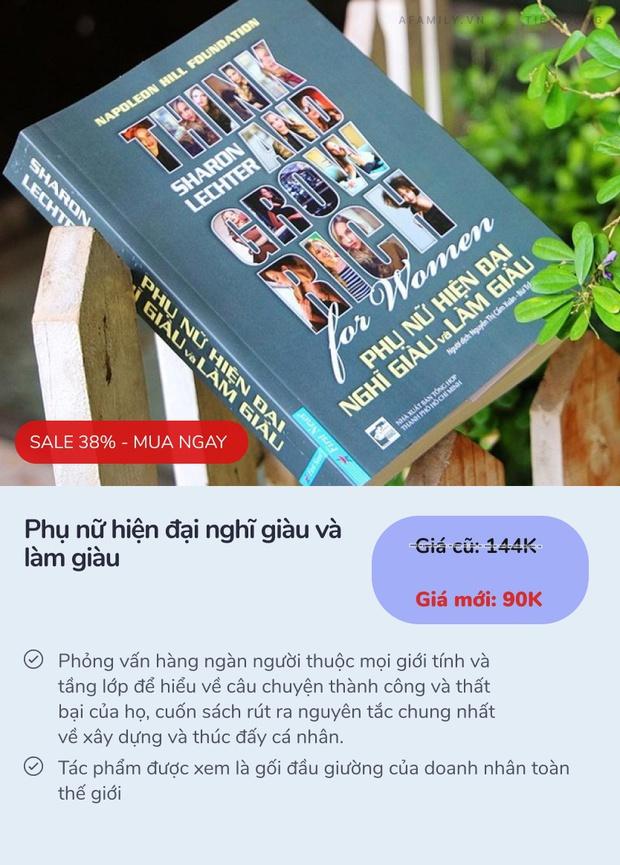 6 cuốn sách dạy cách làm giàu bán chạy nhất ở Tiki: 3 cuốn đầu còn có giá rẻ nhất thị trường - Ảnh 11.