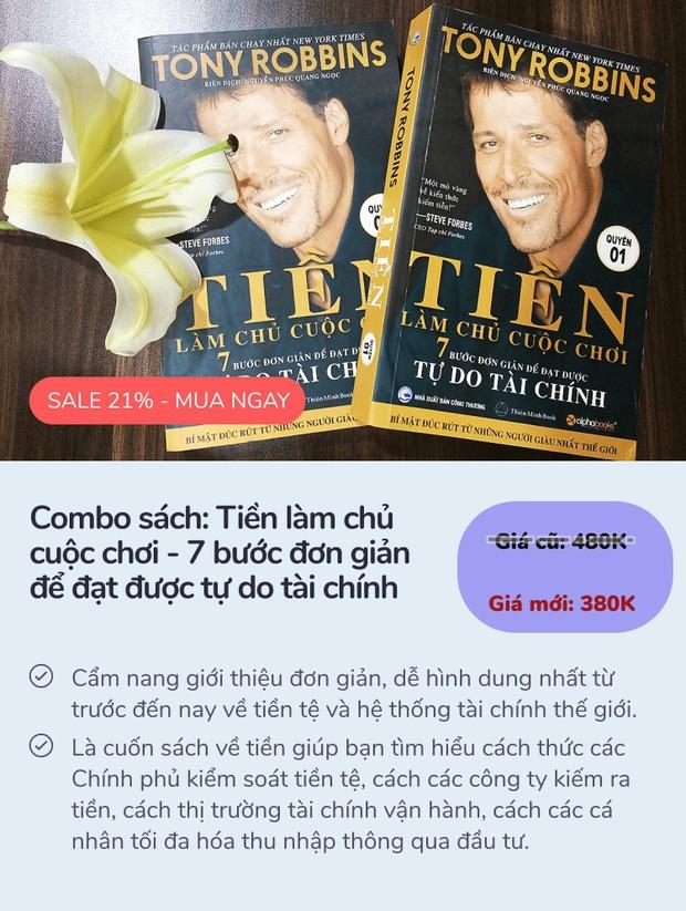 6 cuốn sách dạy cách làm giàu bán chạy nhất ở Tiki: 3 cuốn đầu còn có giá rẻ nhất thị trường - Ảnh 7.