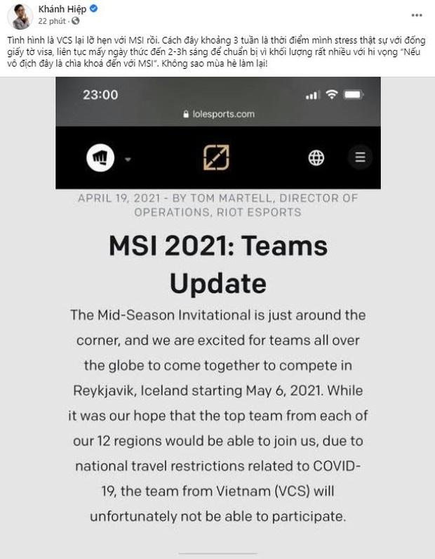 Lỡ hẹn với MSI 2021, không khí thất vọng bao trùm các thành viên GAM Esports - Ảnh 8.