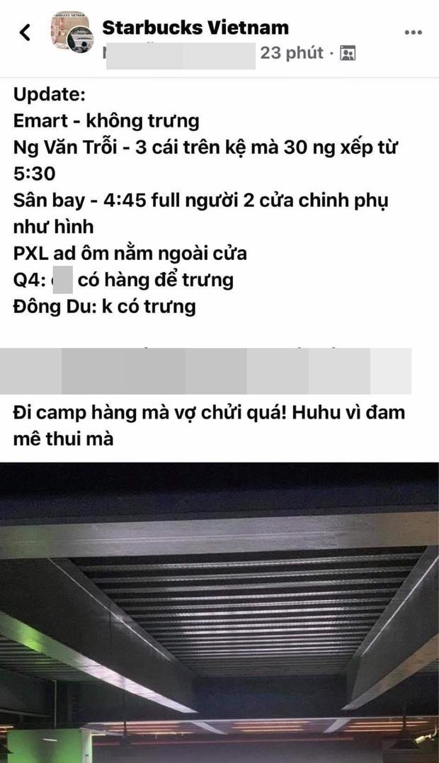 Choáng: Người Sài Gòn 6h sáng xếp hàng dài trước cổng Starbucks để săn chiếc ly màu xanh với giá 500k, sau chưa đầy 4 tiếng bán lại đã tăng giá gấp 4 lần - Ảnh 9.