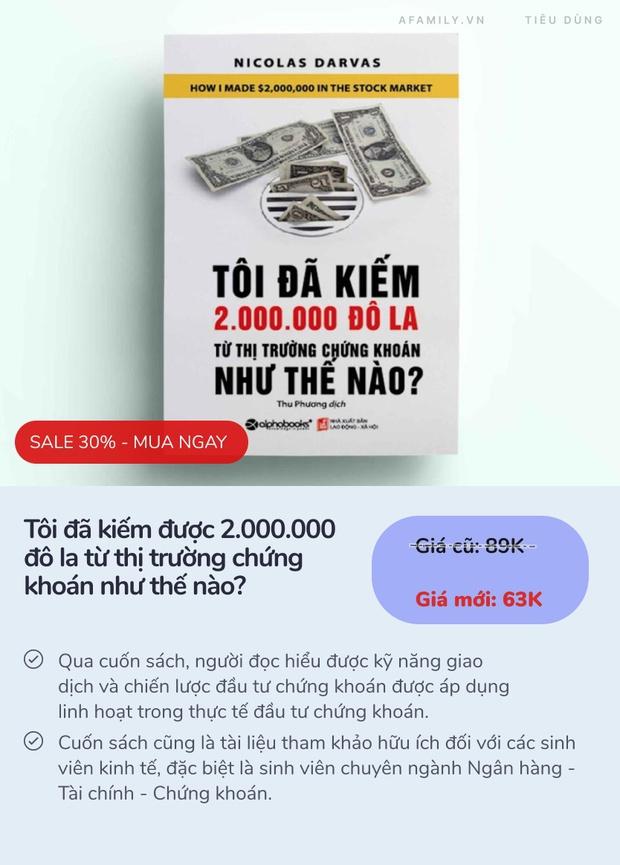 6 cuốn sách dạy cách làm giàu bán chạy nhất ở Tiki: 3 cuốn đầu còn có giá rẻ nhất thị trường - Ảnh 9.