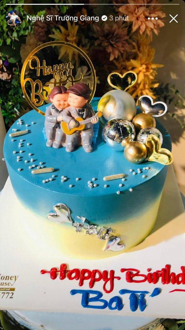 Đang dính thị phi, Nhã Phương vẫn dành điều đặc biệt cho Trường Giang, zoom cận chiếc bánh sinh nhật là hiểu - Ảnh 2.