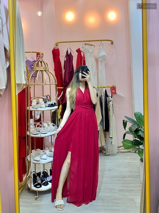 Vào shop chọn váy bánh bèo đi biển: Dưới 350k toàn kiểu xinh tươi, chụp ảnh sống ảo mê phải biết - Ảnh 4.