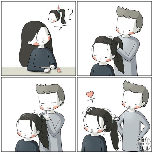 Bộ tranh: Câu hỏi chưa có lời giải, tình yêu có thể khiến người ta trở nên ngớ ngẩn như thế nào - Ảnh 5.