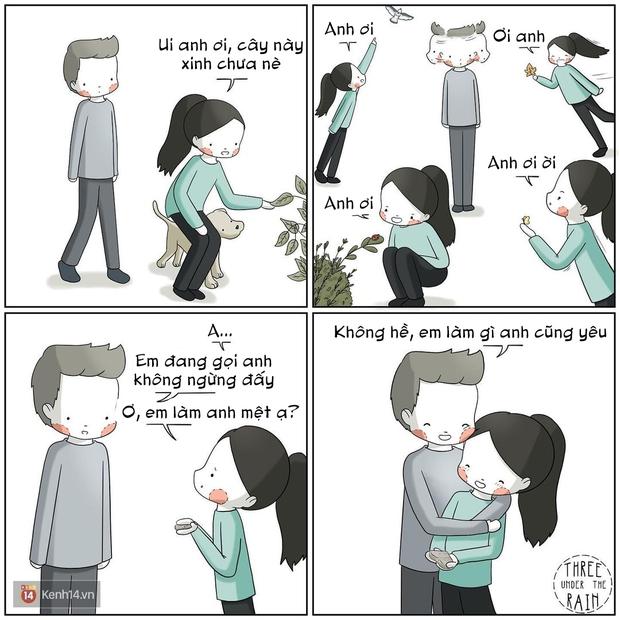 Bộ tranh: Câu hỏi chưa có lời giải, tình yêu có thể khiến người ta trở nên ngớ ngẩn như thế nào - Ảnh 11.