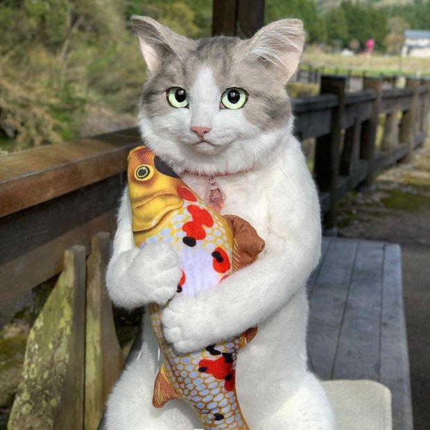 Balo mèo gây lú phá đảo trái tim netizen Nhật, giống thật tới nỗi hội chị em nhìn qua đã muốn xuống tiền mua luôn - Ảnh 7.
