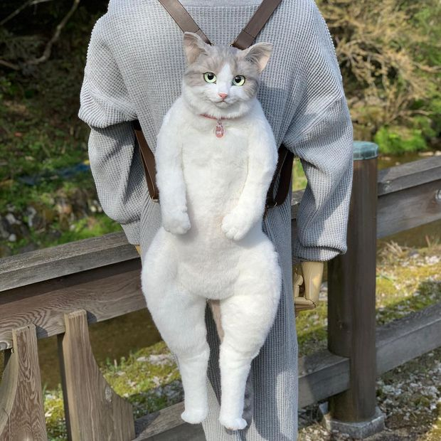 Balo mèo gây lú phá đảo trái tim netizen Nhật, giống thật tới nỗi hội chị em nhìn qua đã muốn xuống tiền mua luôn - Ảnh 9.