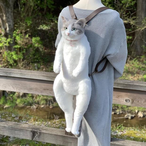 Balo mèo gây lú phá đảo trái tim netizen Nhật, giống thật tới nỗi hội chị em nhìn qua đã muốn xuống tiền mua luôn - Ảnh 10.