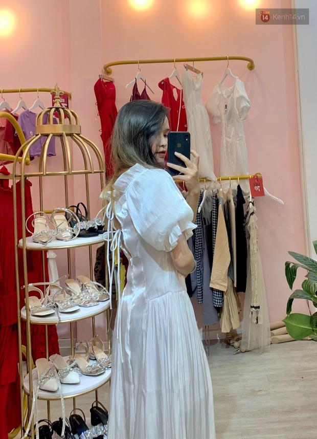 Vào shop chọn váy bánh bèo đi biển: Dưới 350k toàn kiểu xinh tươi, chụp ảnh sống ảo mê phải biết - Ảnh 3.