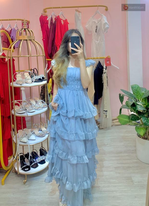 Vào shop chọn váy bánh bèo đi biển: Dưới 350k toàn kiểu xinh tươi, chụp ảnh sống ảo mê phải biết - Ảnh 2.