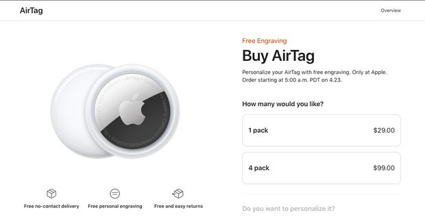 Tất tần tật về AirTag - Sản phẩm đáng mua hơn cả iPhone vừa được Apple giới thiệu, 700K cho những ai não cá vàng - Ảnh 7.