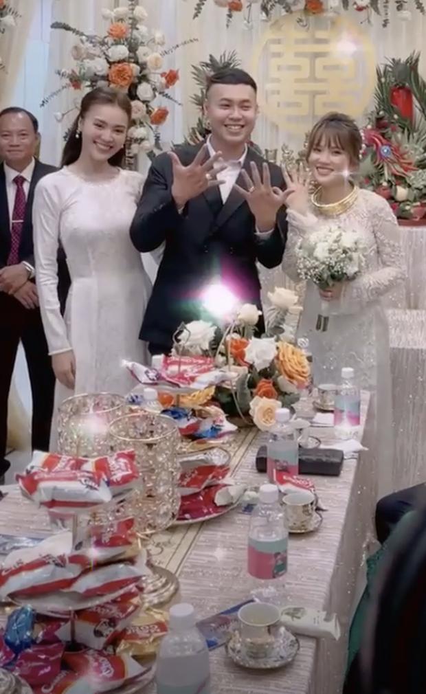 Diện áo dài dự đám cưới em trai, Lan Ngọc khiến netizen ngẩn ngơ vì nhan sắc xinh đẹp, sợ chiếm luôn spotlight của nhân vật chính - Ảnh 5.