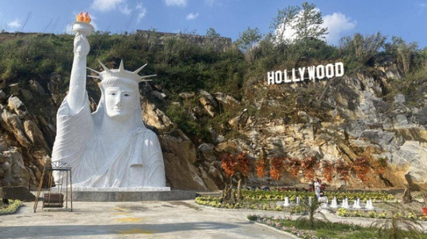 Điểm check-in có bức tượng Nữ thần Tự do phiên bản đột biến ở Sa Pa bị tạm cấm đón khách tham quan - Ảnh 1.