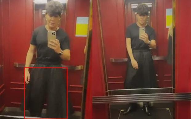 Nathan Lee diện cho mình tấm váy để đấu với Ngọc Trinh, nhưng váy của anh dường như không phải là... váy! - Ảnh 1.