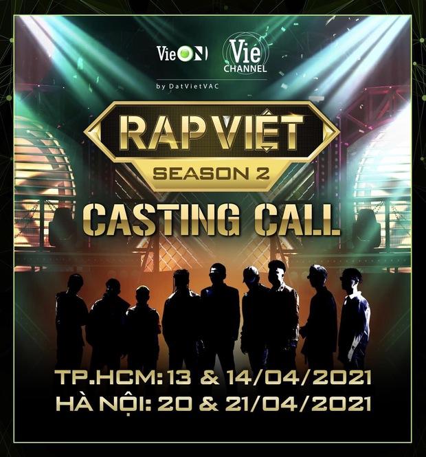 Rap Việt mùa 2 gây nhiễu ngay từ vòng casting: Sức hút thực tế hay chiêu trò là nhiều? - Ảnh 1.