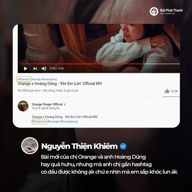 Orange - Hoàng Dũng tung MV Khi Em Lớn nhưng không lường được sự phong phú của tiếng Việt lại cho ra hashtag nhạy cảm cỡ này - Ảnh 6.