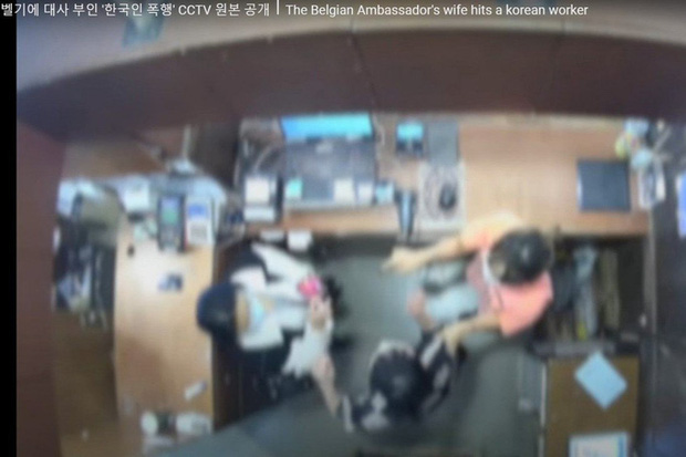 Dân mạng Hàn Quốc sôi sục vì vợ đại sứ Bỉ tát nhân viên bán hàng - Ảnh 1.