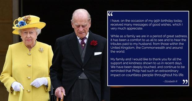 Trong ngày sinh nhật tuổi 95, Nữ hoàng Anh có động thái mới, cho thấy sự tinh tế và đẳng cấp cao sang của bà - Ảnh 1.