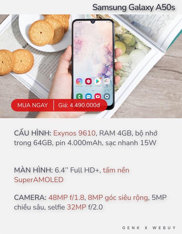 Giá dưới 5 triệu, đây là những smartphone đang được người Việt quan tâm nhất - Ảnh 3.