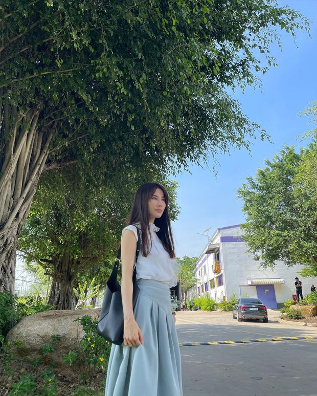 Hết Minh Hằng rồi đến Diễm My 9x khoe style công sở chuẩn sành điệu, thanh lịch trong phim mới - Ảnh 4.