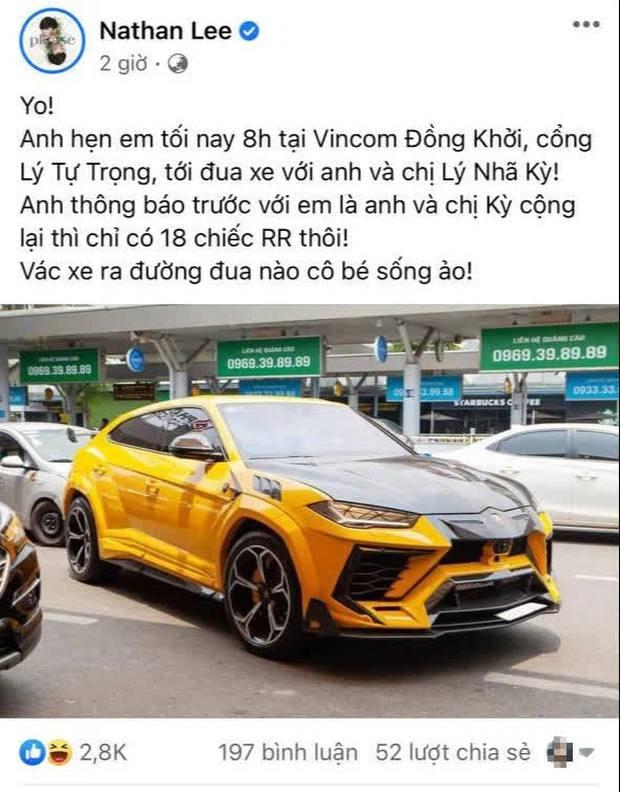 Cuộc chiến Nathan Lee - Ngọc Trinh bước sang chương mới: Đọ siêu xe, khoe của và tiếp theo là gì? - Ảnh 2.