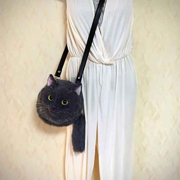 Balo mèo gây lú phá đảo trái tim netizen Nhật, giống thật tới nỗi hội chị em nhìn qua đã muốn xuống tiền mua luôn - Ảnh 20.