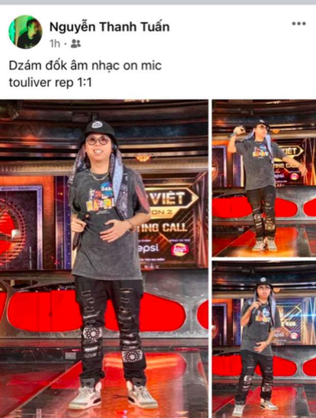 Rap Việt Endgame: Thí sinh Touliver on mic đi casting thế này thì trao Quán quân luôn đi chứ thi làm gì nữa! - Ảnh 2.