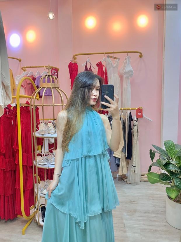 Vào shop chọn váy bánh bèo đi biển: Dưới 350k toàn kiểu xinh tươi, chụp ảnh sống ảo mê phải biết - Ảnh 5.
