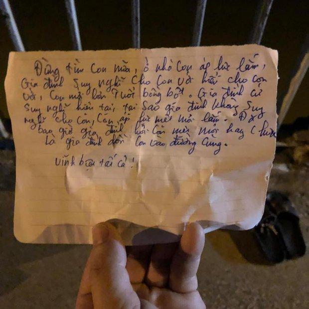 Hé lộ nội dung bức thư tuyệt mệnh nam thanh niên để lại trên cầu rồi tự tử - Ảnh 2.