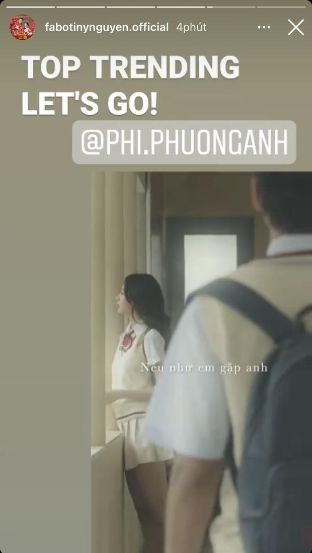 """Phí Phương Anh tung MV mới, bồ thiếu gia Sài Thành lập tức có động thái chứng minh """"fan trung thành"""" - Ảnh 5."""
