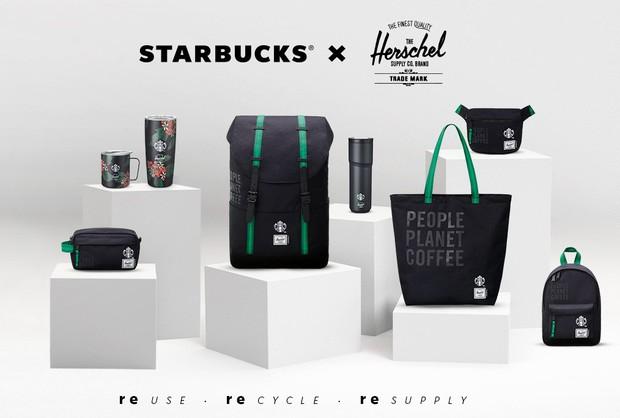 Trên tay chiếc balo gần 2 triệu đồng Starbucks mới mở bán: Có gì hay mà giá chát đến thế? - Ảnh 1.