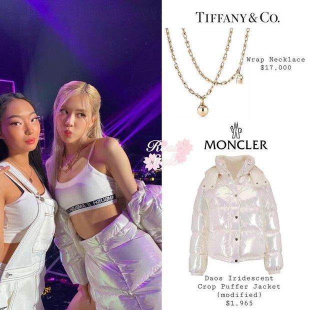 Muốn biết Rosé là đại sứ có tâm thế nào với Tiffany & Co, nhìn vào cổ của cô là biết ngay! - Ảnh 2.