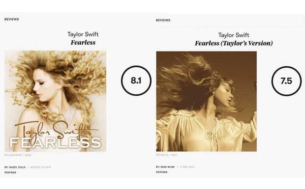 Chưa kịp vui vì Taylor Swift thu âm lại album cũ mà xác lập được kỷ lục mới thì Pitchfork chấm điểm tụt cả mood - Ảnh 5.