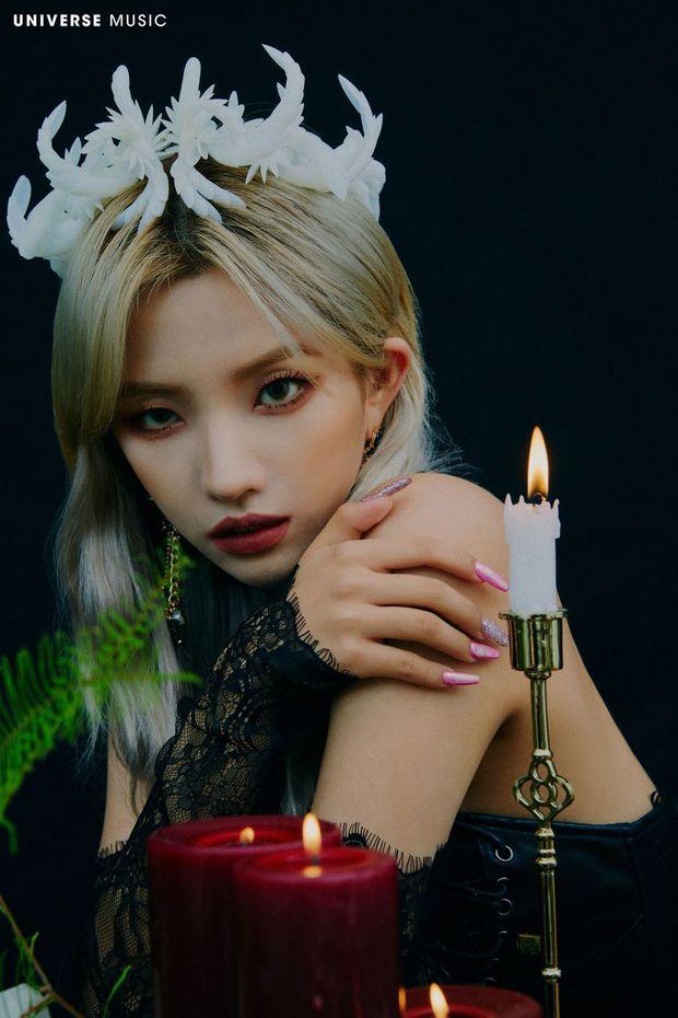 (G)I-DLE tung ảnh teaser huyền bí, bị phát hiện chi tiết vẫn muốn níu kéo Soojin mặc scandal? - Ảnh 2.