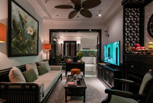 Ra ở riêng, vợ chồng 9x thiết kế căn hộ đậm chất Huế với chi phí hơn 1 tỷ đồng, KTS chia sẻ câu chuyện hiểu lầm suýt phải dừng thi công - Ảnh 2.