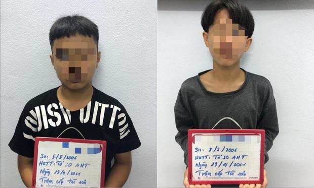 2 thiếu niên học phá khóa trên YouTube rồi rủ nhau đi trộm xe máy - Ảnh 1.